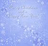 Kartka świąteczna z płatki śniegu | Stock Vector Graphics