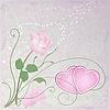 浪漫玫瑰卡 | 向量插图