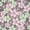 Piękny kwiatowy szwu | Stock Vector Graphics