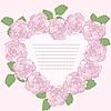 Romantyczna ramka z różami | Stock Vector Graphics