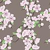 Nahtloses Muster mit Sakura-Zweig