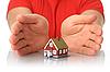 ID 3107382 | Hände und kleines Haus | Foto mit hoher Auflösung | CLIPARTO