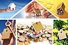 ID 3107397 | Inwestowanie w nieruchomości. Kolaż biznesowych | Foto stockowe wysokiej rozdzielczości | KLIPARTO