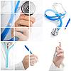 Collage. Medycyna koncepcji | Stock Foto