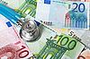ID 3108334 | Stethoskop und Euro-Banknoten | Foto mit hoher Auflösung | CLIPARTO