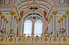 Balcony in the Main Hall of Dolma Bahche Palace | Stock Foto