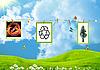 Nein für ökologische Verbrechen | Stock Illustration