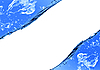 Blaues Wasser und Spritzwasser | Stock Illustration
