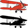 ID 3113348 | Stary samolot | Stockowa ilustracja wysokiej rozdzielczości | KLIPARTO