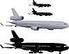 ID 3113350   Verkehrsflugzeug   Illustration mit hoher Auflösung   CLIPARTO