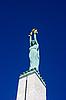 Monument of Freedom in Riga | 免版税照片