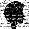 Silhouette eines Kopfes