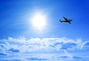 ID 3249429 | Flugzeug im Himmel | Foto mit hoher Auflösung | CLIPARTO