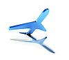 ID 3125725 | Symbolisches Flugzeug im Start | Illustration mit hoher Auflösung | CLIPARTO