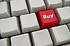 Tastatur mit Einkauf-Taste | Stock Illustration