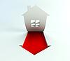Immobilien sind im Preis steigen | Stock Illustration