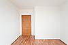 Leeres Zimmer mit Tür | Stock Foto