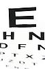 Medyczne - Fuzzy signt z wykresu oka | Stock Foto