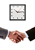 Hand shake between businessman | Stock Foto