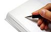 ID 3242818 | Stift in der Hand schriftlich auf Notebook | Foto mit hoher Auflösung | CLIPARTO