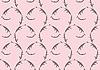 grau-rosa nahtloses Muster
