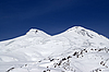 Caucasus Mountains. Mount Elbrus | Stock Foto