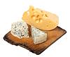 ID 3356668 | Verschiedene Käsesorten auf alten hölzernen Küche Bord | Foto mit hoher Auflösung | CLIPARTO