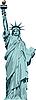 Statua Wolności | Stock Vector Graphics