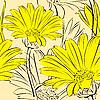 Floral bezszwowe tło | Stock Vector Graphics