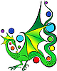 ID 3127295 | Green Dragon | Klipart wektorowy | KLIPARTO