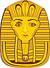 ID 3127318 | Goldene Pharao-Maske | Stock Vektorgrafik | CLIPARTO