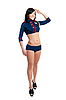 ID 3171128 | Club Dancer Frauen in Uniform Seemann | Foto mit hoher Auflösung | CLIPARTO