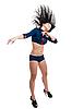 ID 3171129 | Klub tancerz kobiety w mundurze marynarskim | Foto stockowe wysokiej rozdzielczości | KLIPARTO