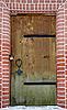 Stare drewniane drzwi | Stock Foto