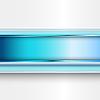 추상 파란색 배너 | Stock Vector Graphics