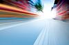 Geschwindigkeit auf der Straße | Stock Foto