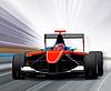 Formel Eins -Rennwagen | Stock Foto