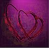 ID 3126114 | Valetinstagkarte mit Herzen | Illustration mit hoher Auflösung | CLIPARTO