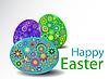 ID 3189831 | Easter eggs | Klipart wektorowy | KLIPARTO
