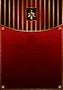 Rotgoldener Hintergrund