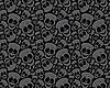 Muster von Totenköpfen