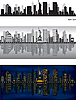 Vector clipart: New York city skylines