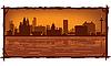 Skyline von Liverpool | Stock Vektrografik