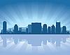 Nashville Skyline | Stock Vector Graphics