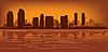 Skyline von San Diego