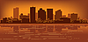 Skyline von Stadt Phoenix