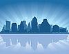 오스틴의 스카이 라인 | Stock Vector Graphics