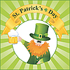 St. Patrick`s Day - Cartoon Leprechaun