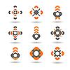 Design-Elemente für Logo