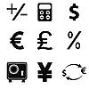 Set von Business-Icons
